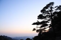 Amazing Stunning View of Huangshan Mountain, Yellow Mountaing. A royalty free stock images