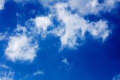 Amazing summer blue sky background wallpaper high quality prints 50,6 Megapixels. Products stock image