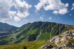 Amazing summer mountains Stock Photography