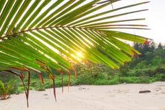 Amazing sunrise on the beach. Of Koh Kho Khao, Thailand Stock Photo