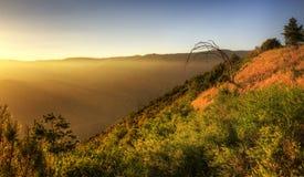Amazing Sunset HDR near Bear Lake California Stock Image
