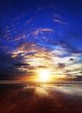Amazing sunset Stock Photos