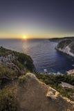 Amazing sunset Stock Image