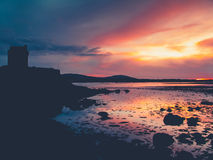 Amazing sunset in southern Ireland Stock Image