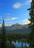 Amazing sunset in the Uinta Mountains. Stock Photos