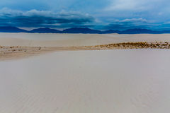 The Amazing Surreal White Sands of New Mexico Royalty Free Stock Photos
