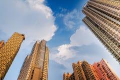 Amazing tall apartment royalty free stock photo