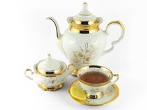 Amazing tea royalty free stock photography