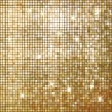 Amazing template on gold glittering. EPS 10 Royalty Free Stock Photography
