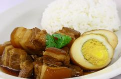 Amazing thai food stock photography