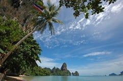 Amazing Thailand! Krabi province. Krabi province. Rocks by the sea Royalty Free Stock Photo
