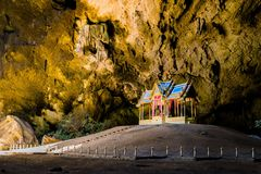 Amazing Thailand. Valley Tunnel Beautiful Royalty Free Stock Images