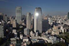Amazing tokyo skyline Stock Image