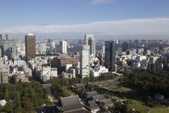 Amazing tokyo skyline Stock Photos