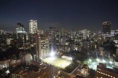 Amazing tokyo skyline Royalty Free Stock Photos