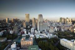Amazing tokyo skyline Stock Images