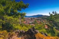 Amazing top view on Marmaris Turkey resort Stock Images