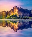 Amazing travel background Stock Photo