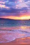 Amazing Tropical Beach Sunset, Stock Photography