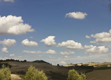Amazing Tuscany landscape Royalty Free Stock Photography