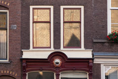 Amazing Utrecht Brick Facades Stock Images