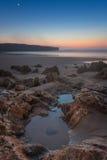 Amazing vertical landscape sunset. royalty free stock photo