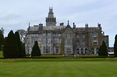 Amazing View of Adare Manor and the Landscape Surrounding the Ma Royalty Free Stock Image
