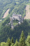 Amazing view of Alpine castle Hohenwerfen Stock Photo