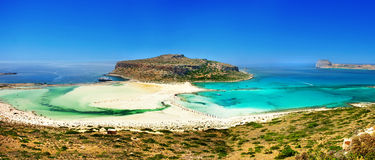 Beautiful Greek landscapes , Crete Royalty Free Stock Images