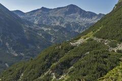 Amazing view of Banderishki Chukar peak, Pirin, Bulgaria. Amazing view of Banderishki Chukar peak, Pirin Mountain, Bulgaria Royalty Free Stock Image