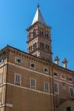 Amazing view of Basilica Papale di Santa Maria Maggiore in Rome, Italy. ROME, ITALY - JUNE 22, 2017: Amazing view of Basilica Papale di Santa Maria Maggiore in Stock Photography