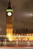 Amazing view of Big Ben at night Stock Photos