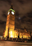 Amazing view of Big Ben at night Royalty Free Stock Images