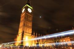 Amazing view of Big Ben at night Royalty Free Stock Image