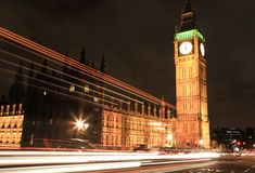 Amazing view of Big Ben at night Stock Photography