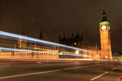 Amazing view of Big Ben at night Royalty Free Stock Photography