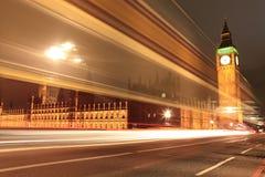 Amazing view of Big Ben at night Stock Image