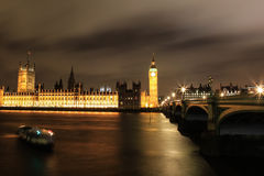 Amazing view of Big Ben at night Royalty Free Stock Photo