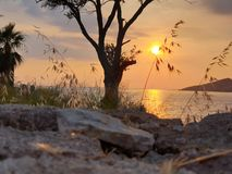 AMAZING VIEW FROM BODRUM stock photography