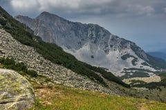 Amazing view of Cliffs of  Sinanitsa peak, Pirin Mountain Stock Photos