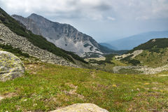 Amazing view of Cliffs of  Sinanitsa peak, Pirin Mountain Stock Image