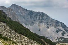 Amazing view of Cliffs of  Sinanitsa peak, Pirin Mountain Stock Images