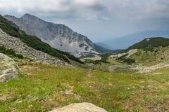 Amazing view of Cliffs of  Sinanitsa peak, Pirin Mountain Royalty Free Stock Photos
