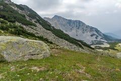 Amazing view of Cliffs of  Sinanitsa peak, Pirin Mountain Stock Photo