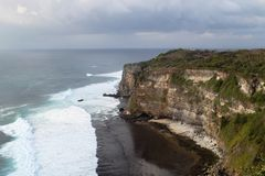 Amazing view of a cost in Uluwatu Stock Image