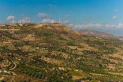Amazing view on Crete island, Greece. Royalty Free Stock Photography