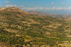 Amazing view on Crete island, Greece. Royalty Free Stock Image