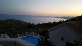 Amazing view in Croatia Stock Image