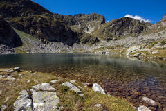 Amazing view of Elenski lakes, Rila Mountain Royalty Free Stock Photography