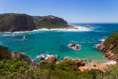 Amazing view of Featherbed, Knysna, South Africa. Amazing view of Featherbed, Knysna, Featherbed Nature Reserve, South Africa Royalty Free Stock Photos